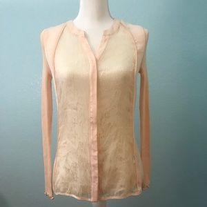 e0665c2751ea7d Rosemunde · Rosemunde Peach Silk Blouse ...